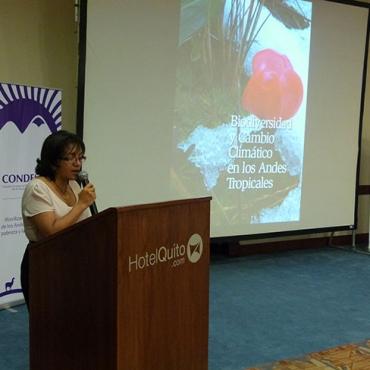 Ministerio del Ambiente del Ecuador formalizó su participación en la Red GLORIA – Andes