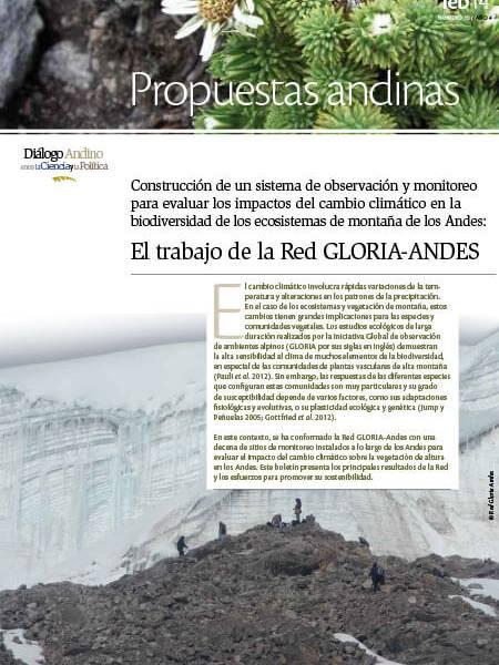 Boletín No.10 Serie Propuestas Andinas