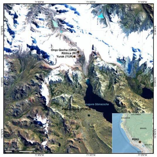 Cordillera de Vilcanota - Laguna de Sibinacocha
